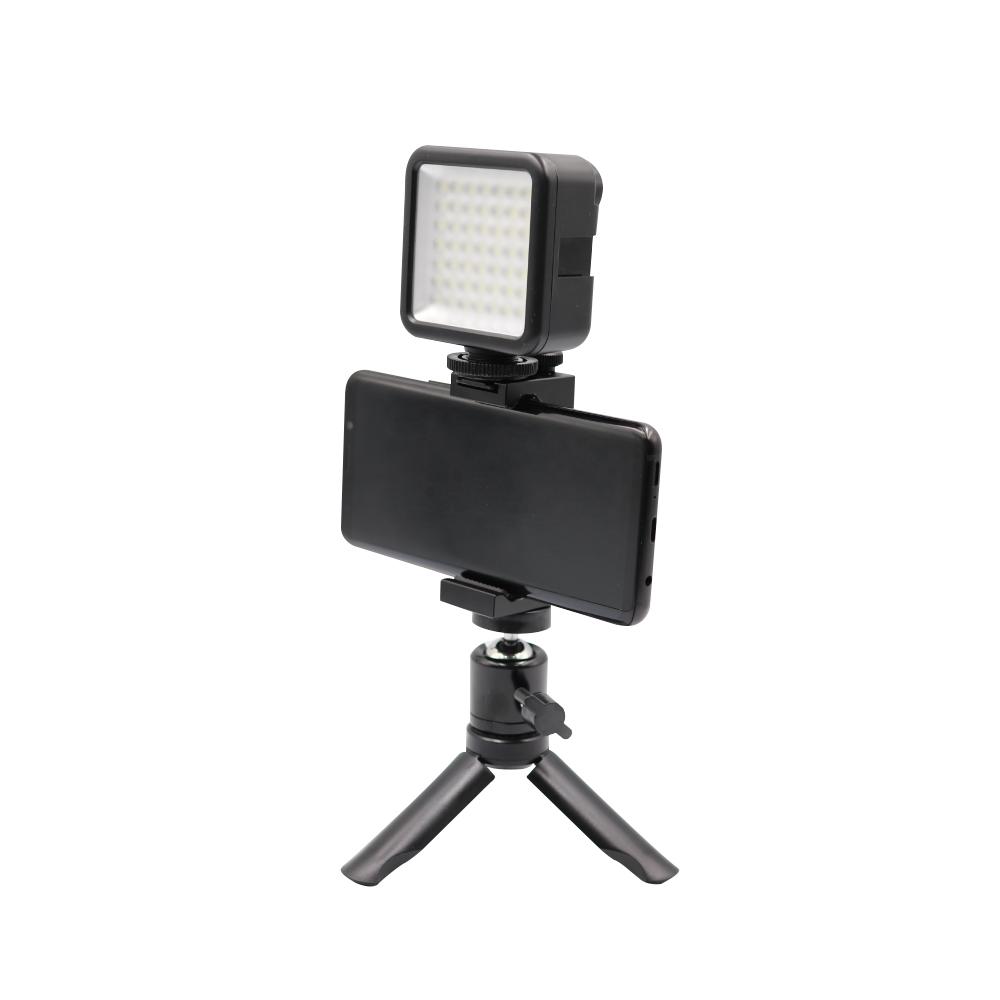 [유튜브 세트] 유튜버몰 개인 스타트 브이로그 스마트폰 휴대용 조명 촬영장비 세트 A, 1세트 - 랭킹6위 (25900원)