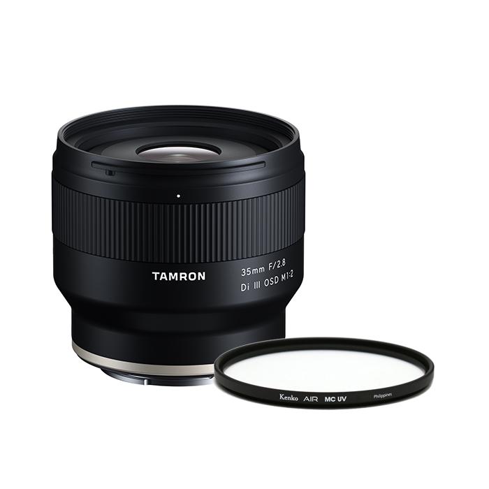 탐론 35mm F/2.8 Di III OSD M1:2 F053 소니 FE렌즈 + 켄코 AIR MC UV 필터 67mm, 렌즈(F503), 필터(Kenko AIR MC UV)