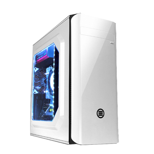 대한컴퓨터샵 노마드74Q 조립PC 화이트 (라이젠7-1700 WIN미포함 RAM 32GB SSD 480GB GTX 1660 SUPER), 단일상품, 기본형