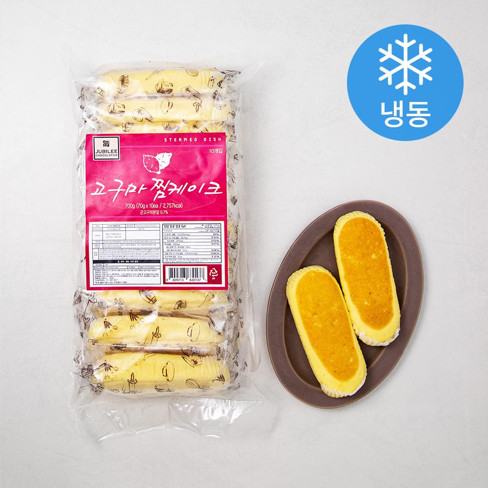 쥬빌리 고구마 찜케이크 (냉동), 70g, 10개