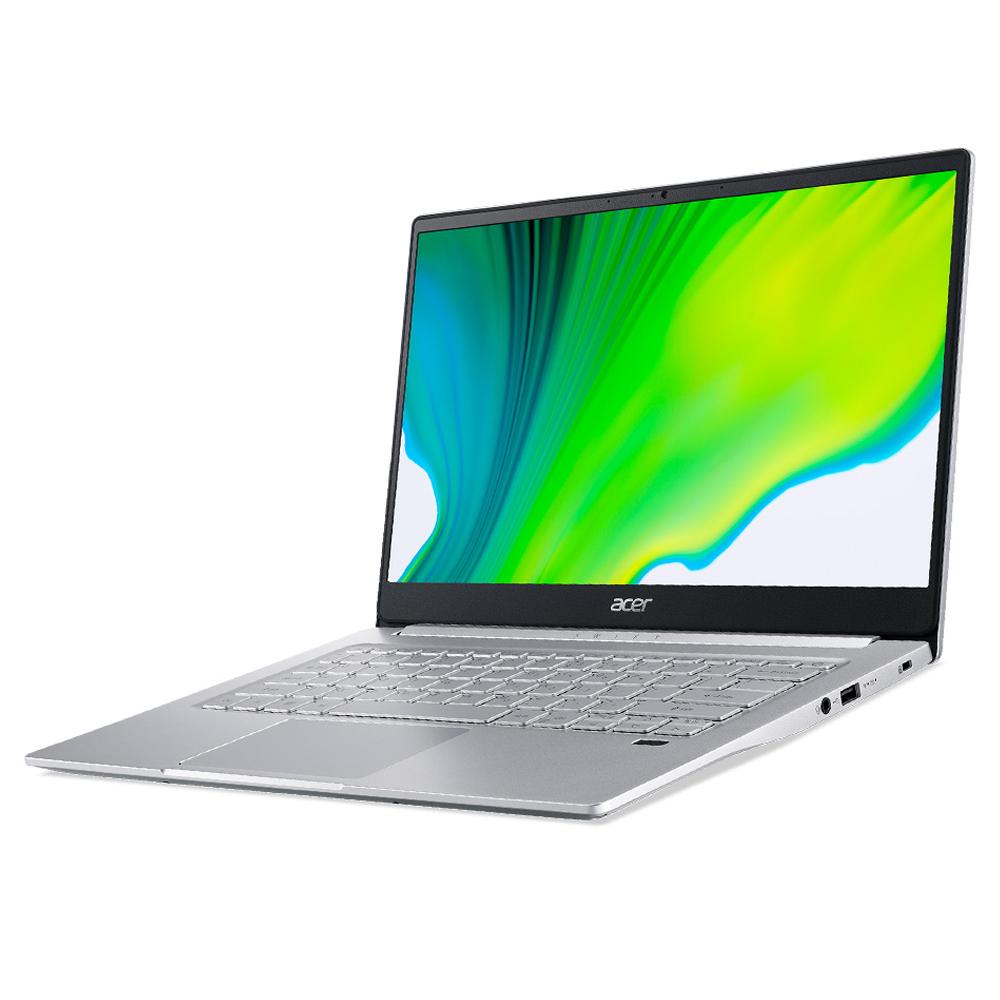 에이서 스위프트3 노트북 실버 SF314-42 (라이젠5-4500U 35.56cm WIN10 Home), 포함, NVMe 256GB, 8GB