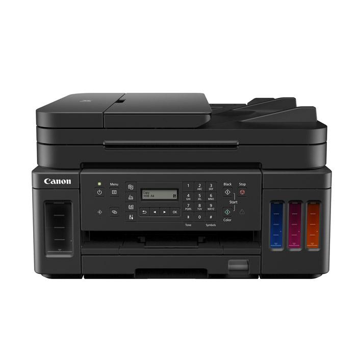 캐논 무한 팩스 복합기 + 블랙잉크 2p + 컬러잉크, G7091, 혼합색상