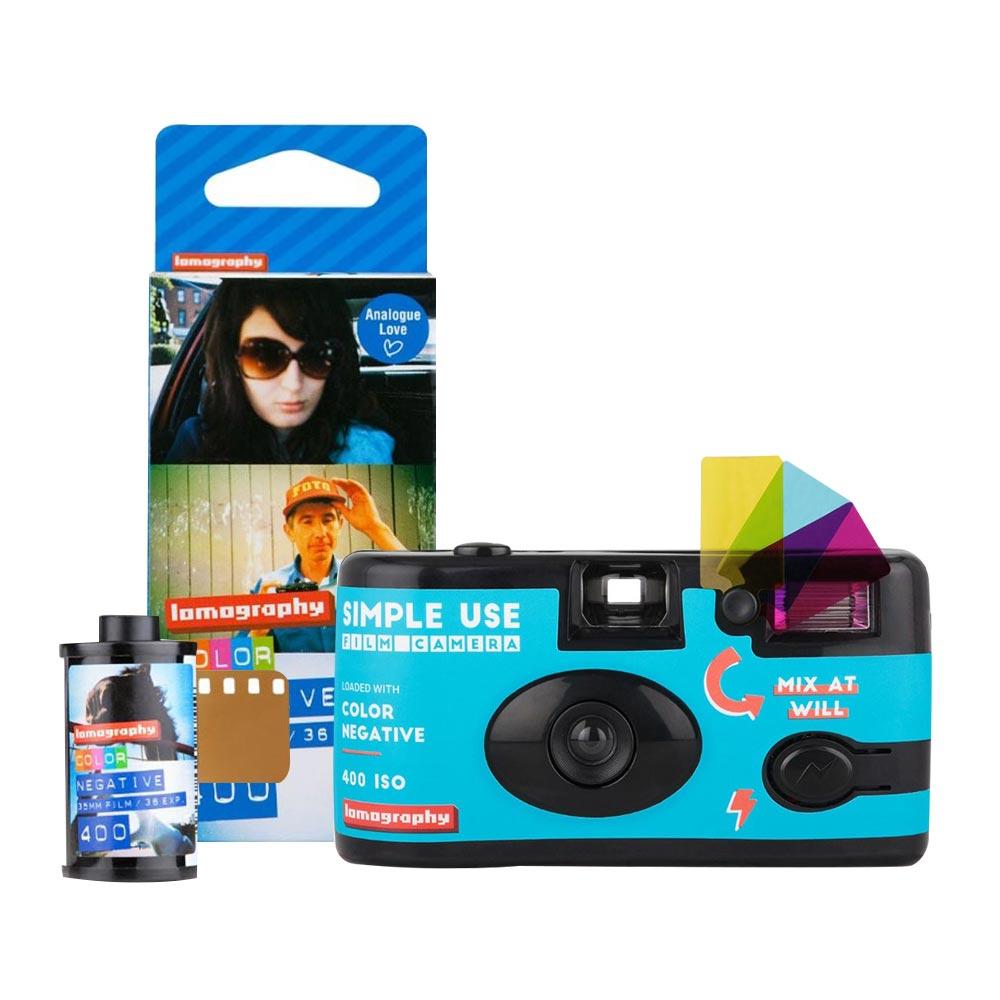로모그래피 심플유즈 컬러네거티브 필름카메라 + ISO400필름 3p, 1세트