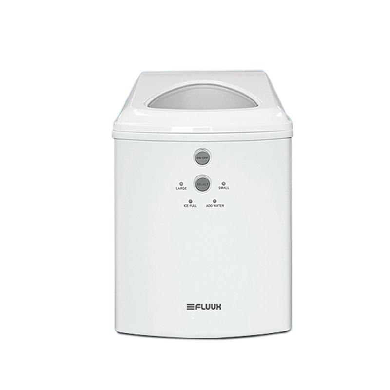 FLUUX 대용량 가정용 자동급수 제빙기 소형 화이트, IMD4-159MW0