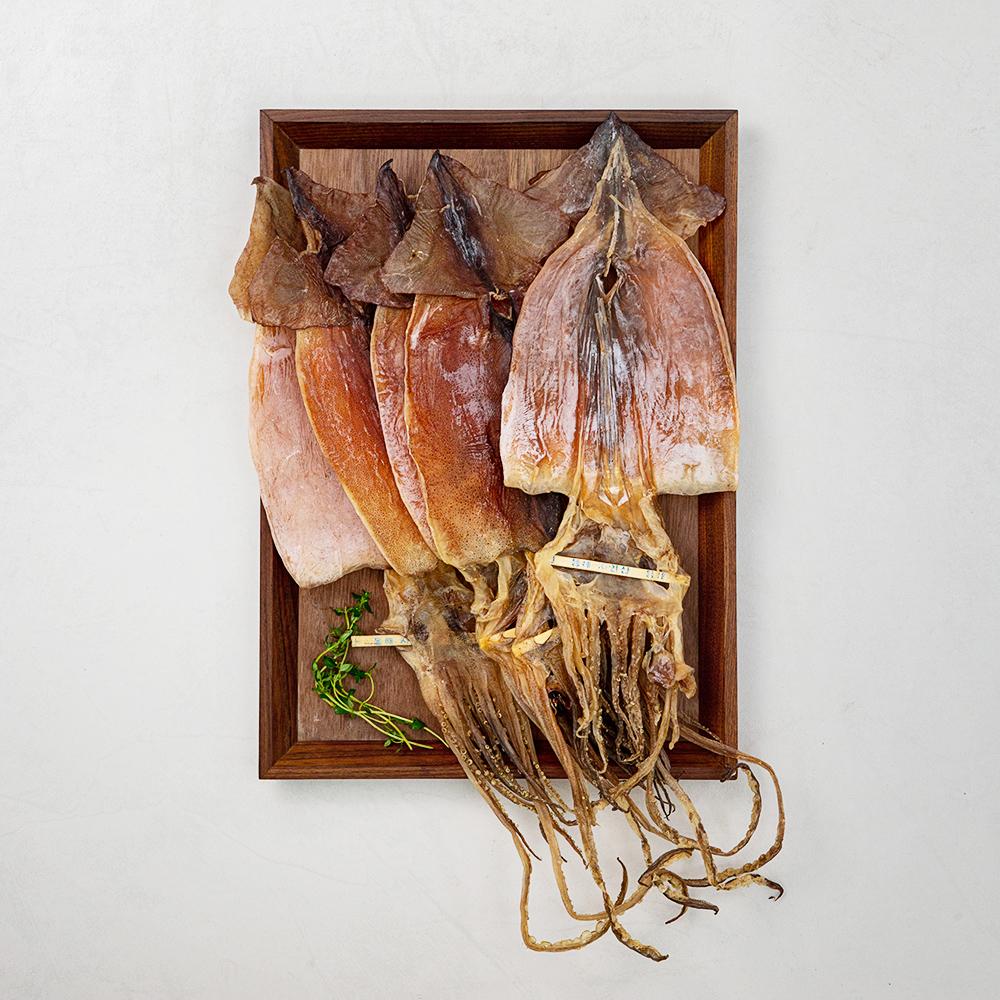 현대푸드 동해안 건오징어 5미 국산, 225g, 1봉