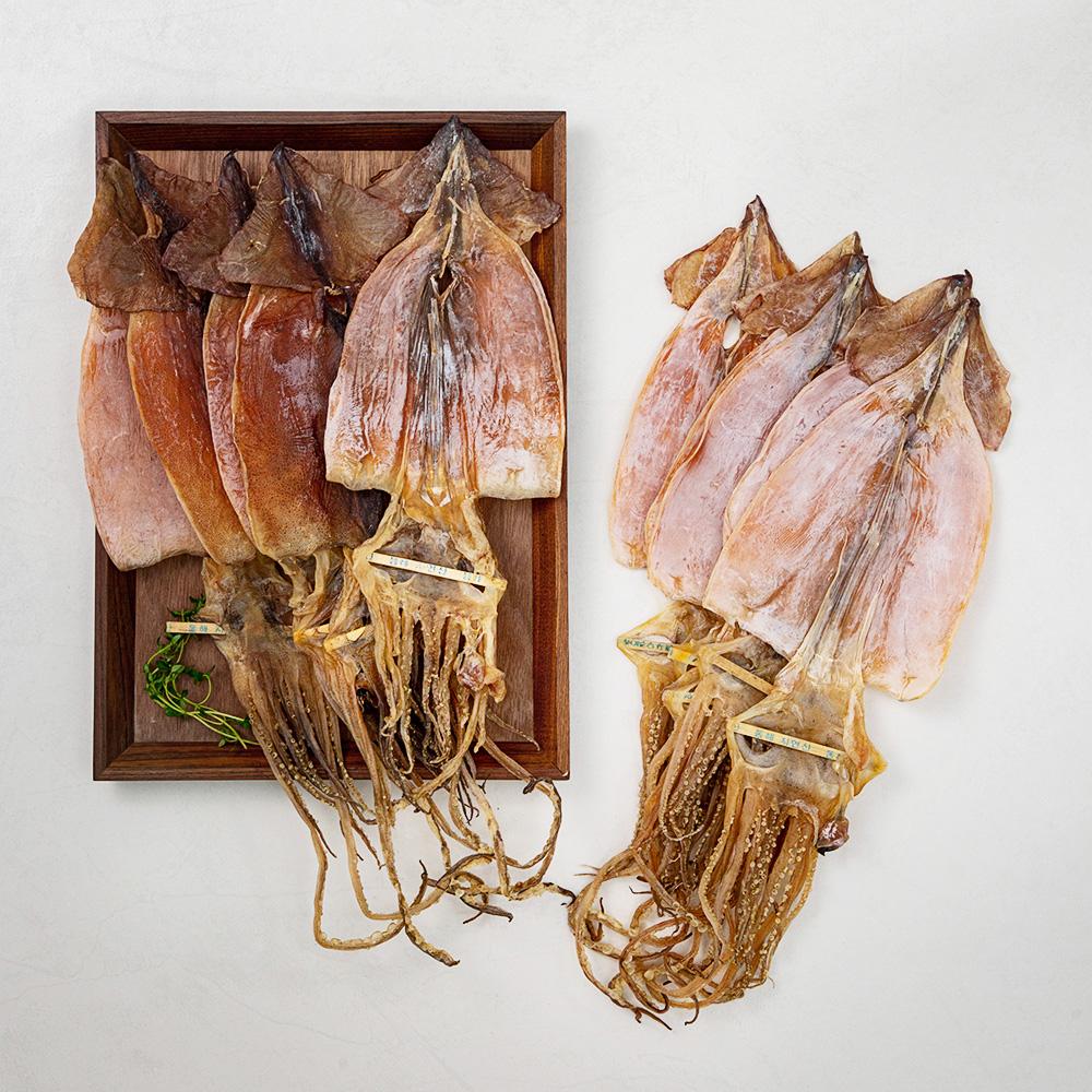 현대푸드 동해안 건오징어10미 국산, 550g, 1봉