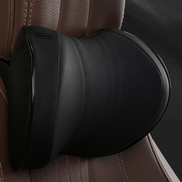 어반카 차량용 메모리폼 넥쿠션 2p, 블랙