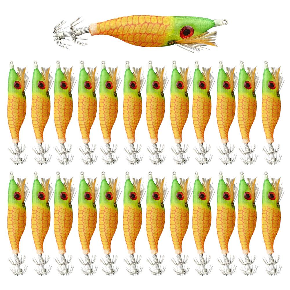 로얄피쉬 왕눈이 에기 25p, 옥수수, 10g