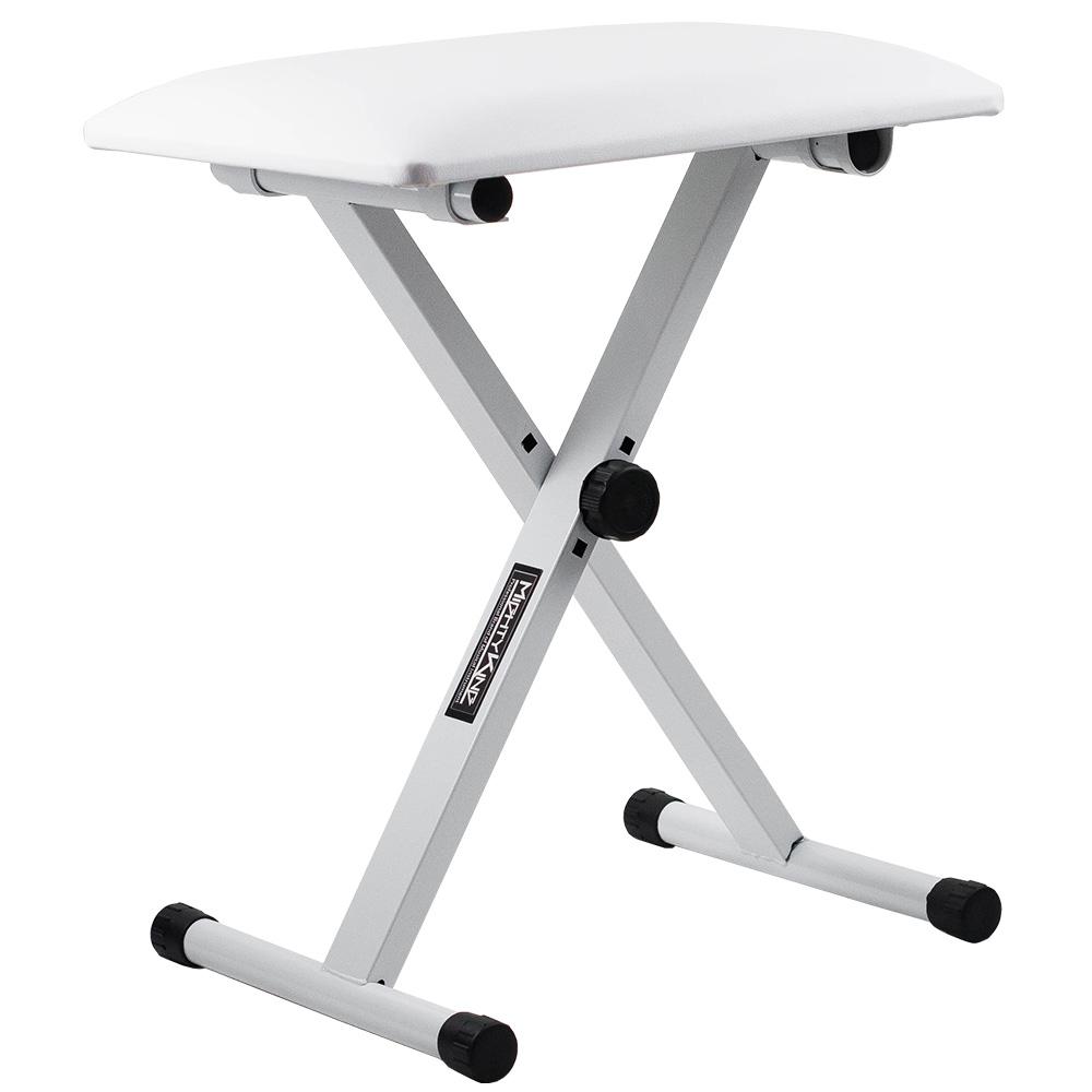 마이티킹 디지털피아노 높이조절 의자 MKB120, 화이트