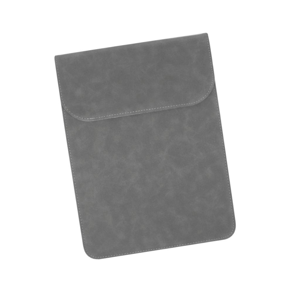 토토 태블릿PC 파우치 25.5 x 30 cm, 스웨이드 다크그레이
