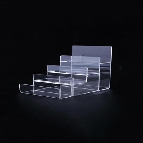 투명 아크릴 안경 선글라스 거치대 디스플레이 4층, 1개