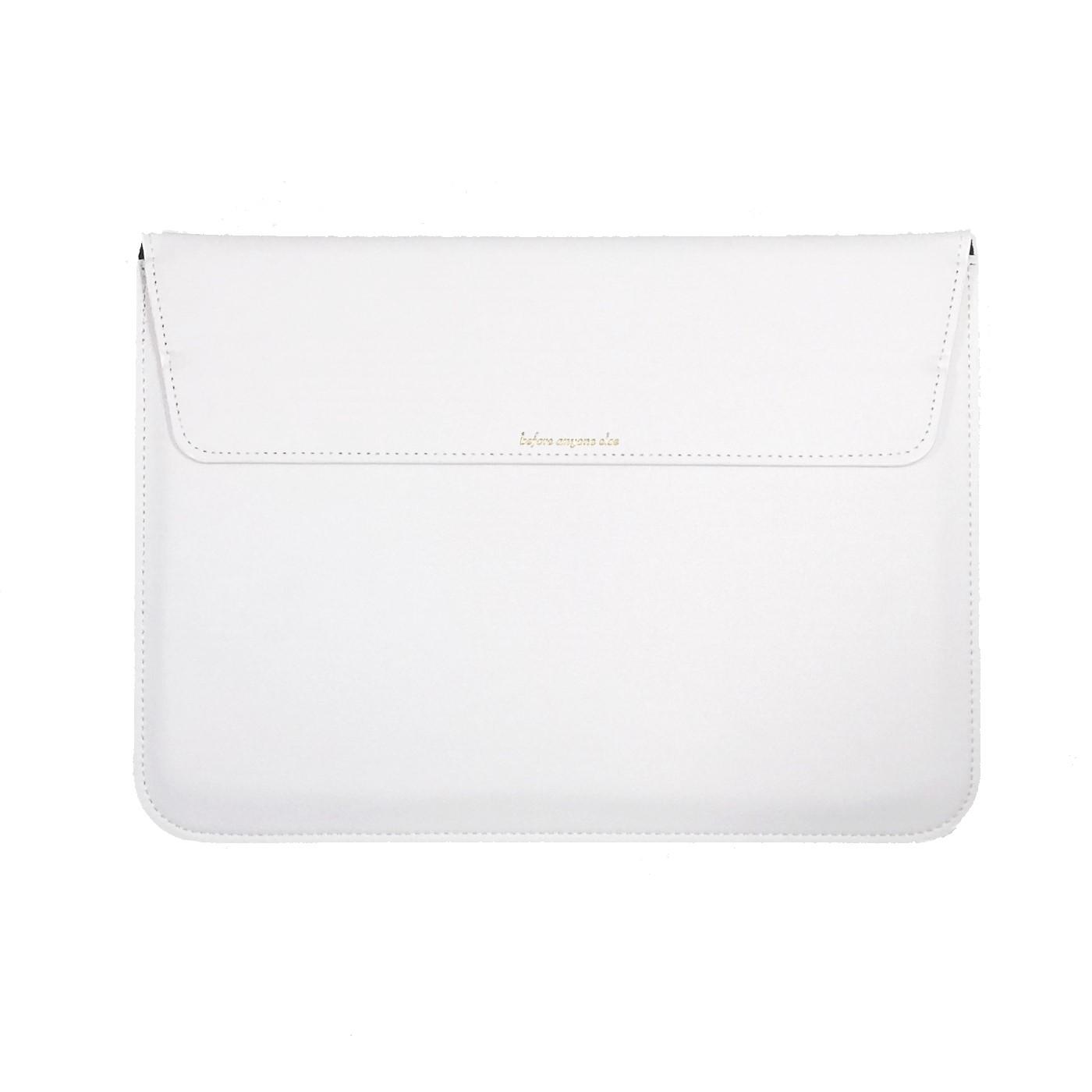 삼성 갤럭시북 / 플렉스 이온 S / LG 그램 / 맥북 호환 노트북 슬리브 파우치, 화이트
