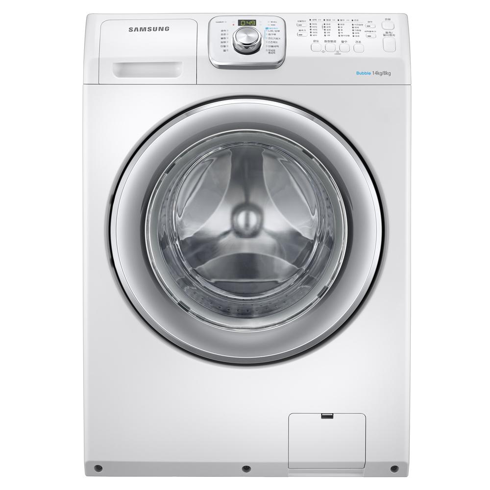 삼성전자 드럼 세탁기 화이트 WD14F5K3ACW1 14kg 방문설치