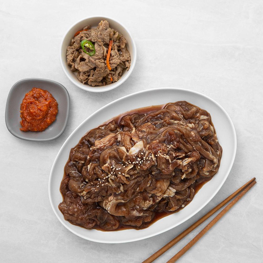 셰프초이스 한돈 양념 돼지 불고기, 1kg, 1개