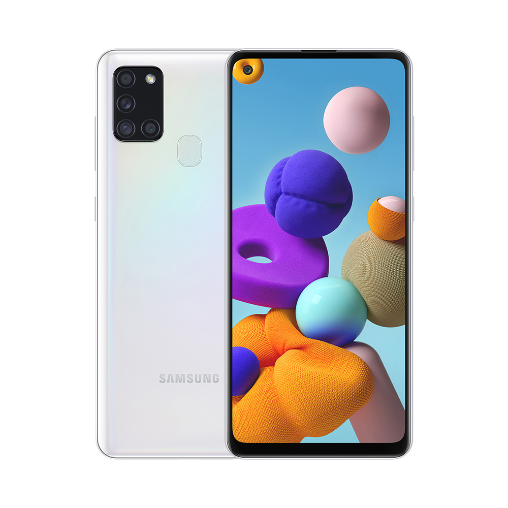 삼성전자 갤럭시 A21s 휴대폰, 화이트, 32GB