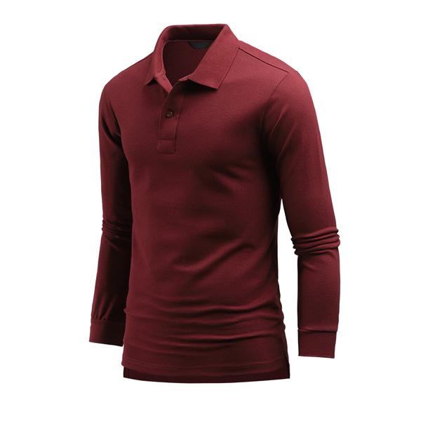 다꾸앙 남성용 완벽파트너 PK 카라 긴팔 티셔츠 C06K9_tp2113