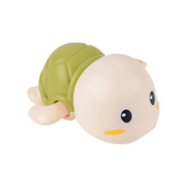 레츠토이 수영하는 거북이 삼총사 유아 목욕놀이 장난감, 그린