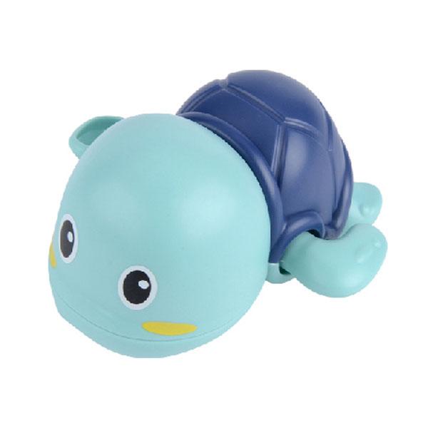 레츠토이 수영하는 거북이 삼총사 유아 목욕놀이 장난감, 블루