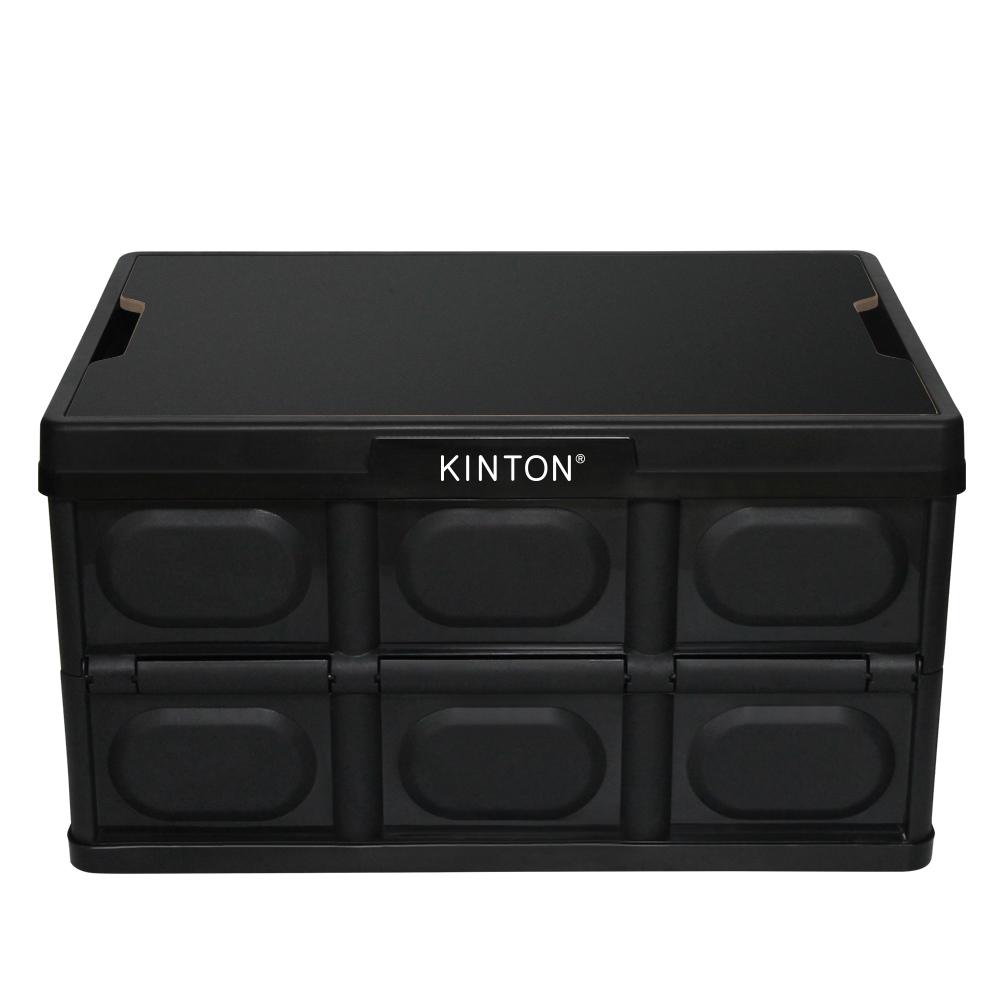 킨톤 트렁크정리함 캠핑 테이블 + 상판 테이블 블랙 MBI9