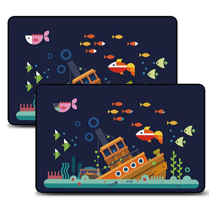 어반카 차량용 자석 햇빛가리개 큐브형, 바다이야기, 2개