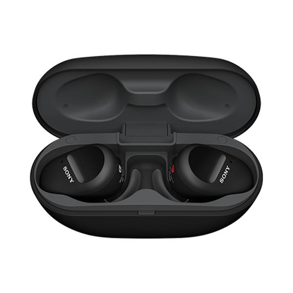 [소니 무선이어폰] 소니 블루투스 완전무선 이어폰, WF-SP800N, 블랙 - 랭킹3위 (150160원)