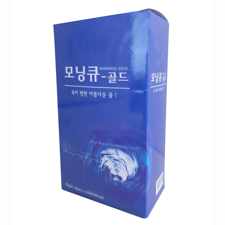 선학모닝큐 골드 쾌변 숙변 장청소 음료, 100ml, 4개