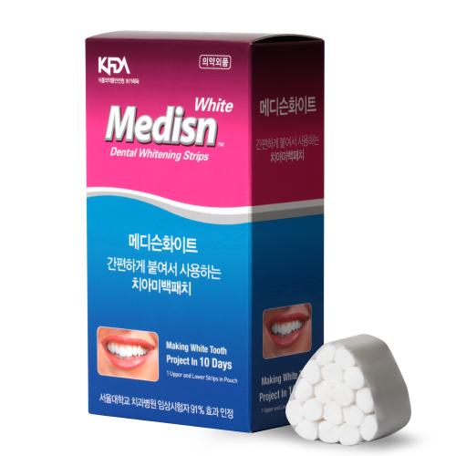 메디슨화이트 치아 미백패치 20p, 1개