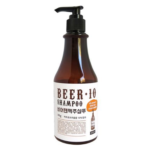 KNH 맥주효모 비어텐 샴푸, 300g, 1개