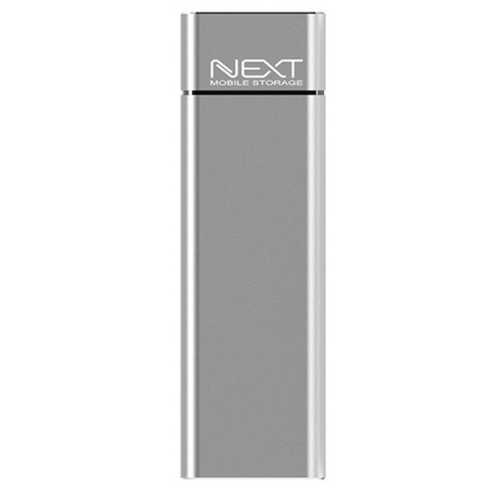 넥스트 USB 3.0 to M.2 SATA SSD 하드미포함 외장케이스 NEXT-M2285U3