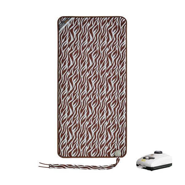한일의료기 온수매트 지브라 브라운, 싱글(95 x 195 cm)