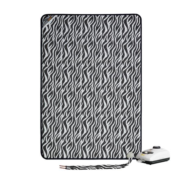 한일의료기 온수매트 지브라 블랙, 더블(140 x 195 cm)