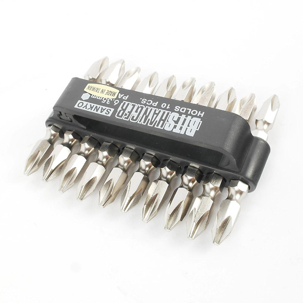 산쿄 십자 드릴 비트 2 x 65 mm 10p세트 SV-065, 1세트