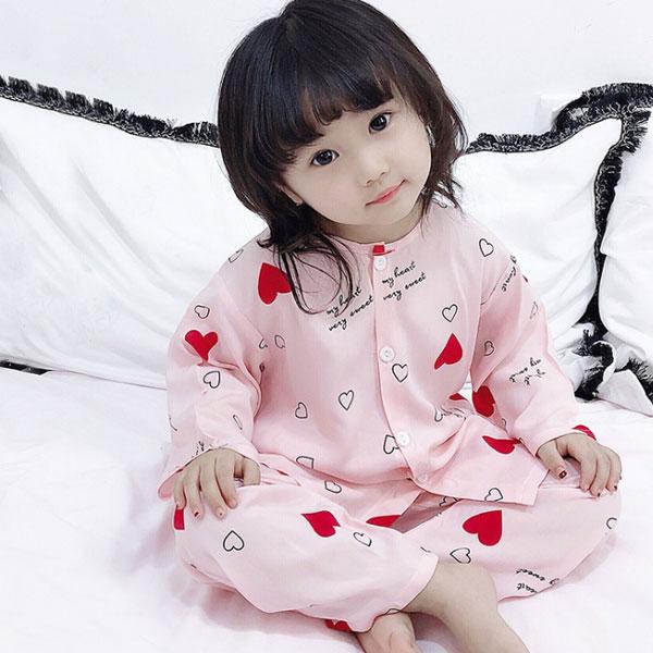 베베니즈 아동용 패턴 잠옷 상하의 세트