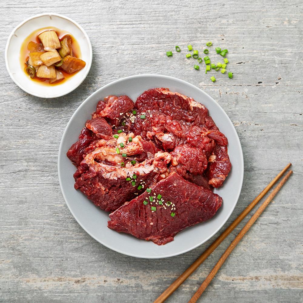 요리락 양념 소 칼집구이, 800g, 1개