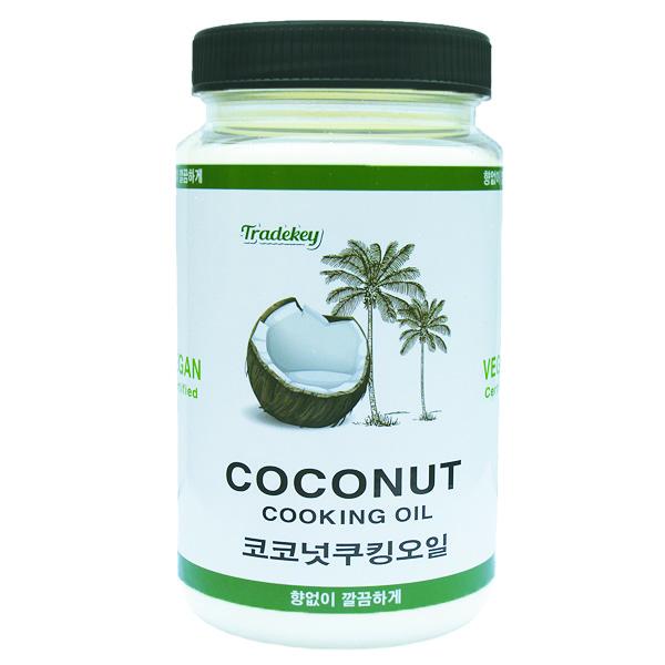 트레드키 정제 코코넛 오일, 500ml, 1개