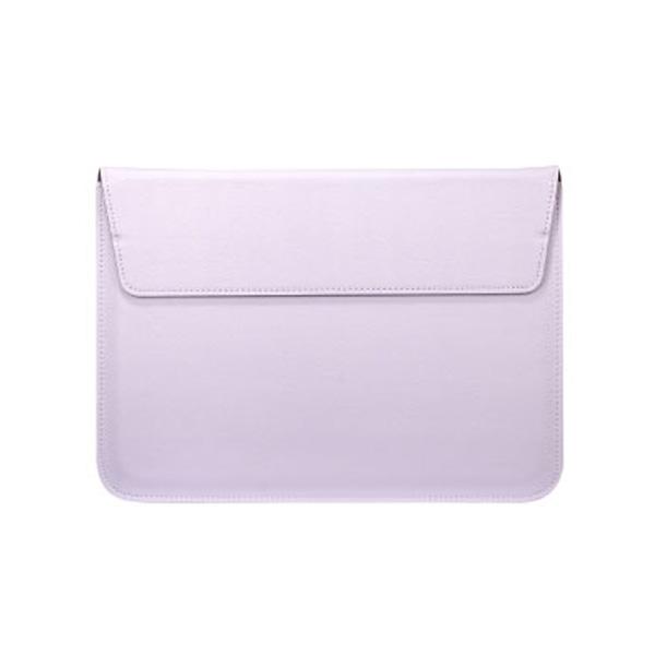 오펜트 각도조절 슬리브 노트북 가죽 파우치, 라벤더
