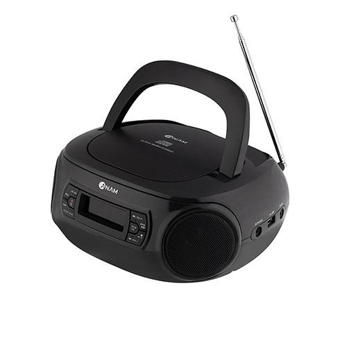아남 블루투스 라디오 CD 플레이어, HS-420, 블랙