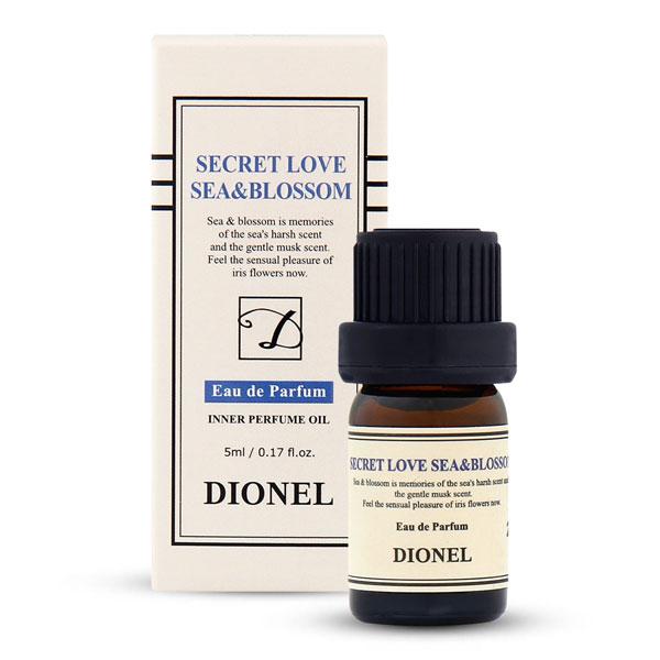 디오넬 이너퍼퓸 시크릿러브 여성청결제 씨앤블러썸, 5ml, 1개