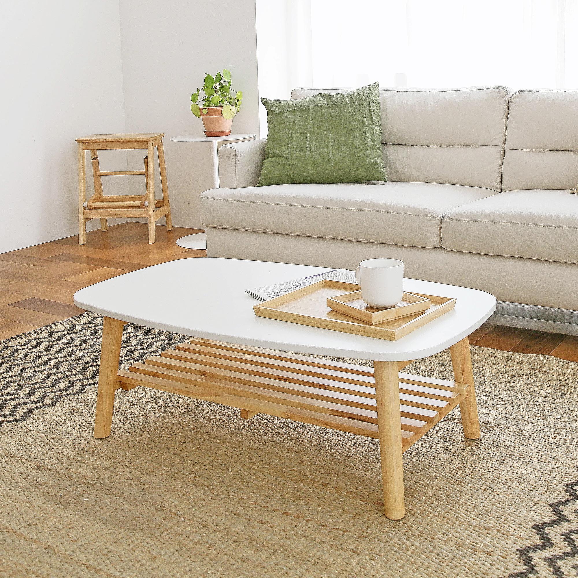 홈페리 라피네 선반 테이블, 화이트
