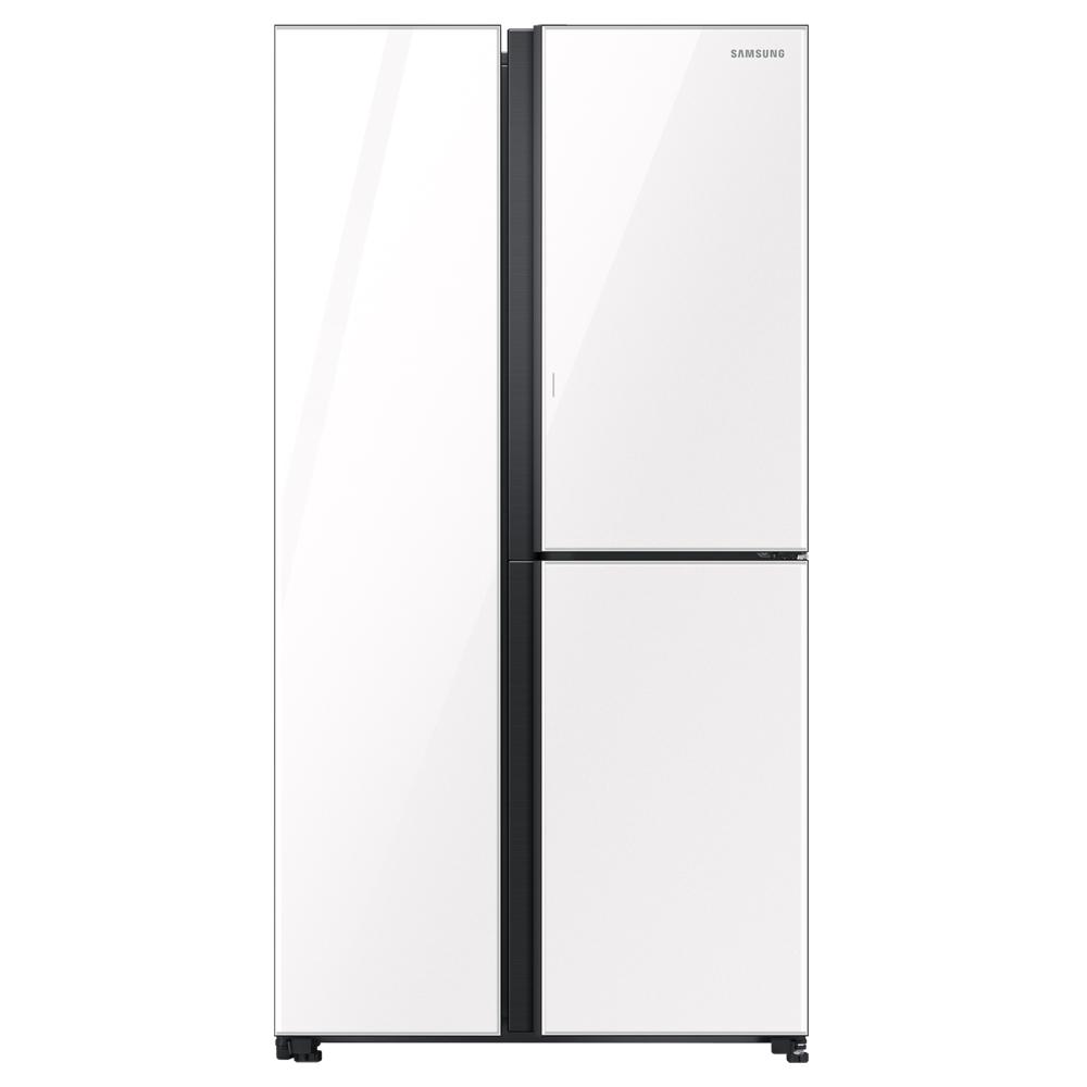 삼성전자 양문형 3도어 냉장고 모던화이트 RS84T507116 846L 방문설치