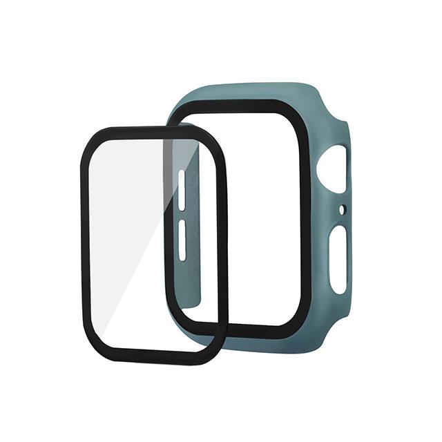 하푼 애플워치3 42mm 9H 강화글라스 케이스, 미드나잇그린, 1개