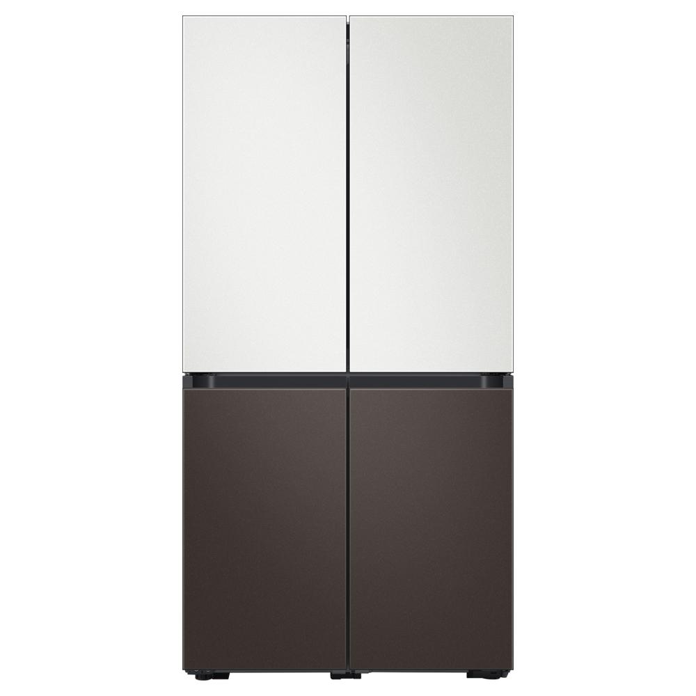 삼성전자 비스포크 4도어 냉장고 RF85T901326 871L 방문설치, RF85T901326 (코타화이트 + 코타차콜)