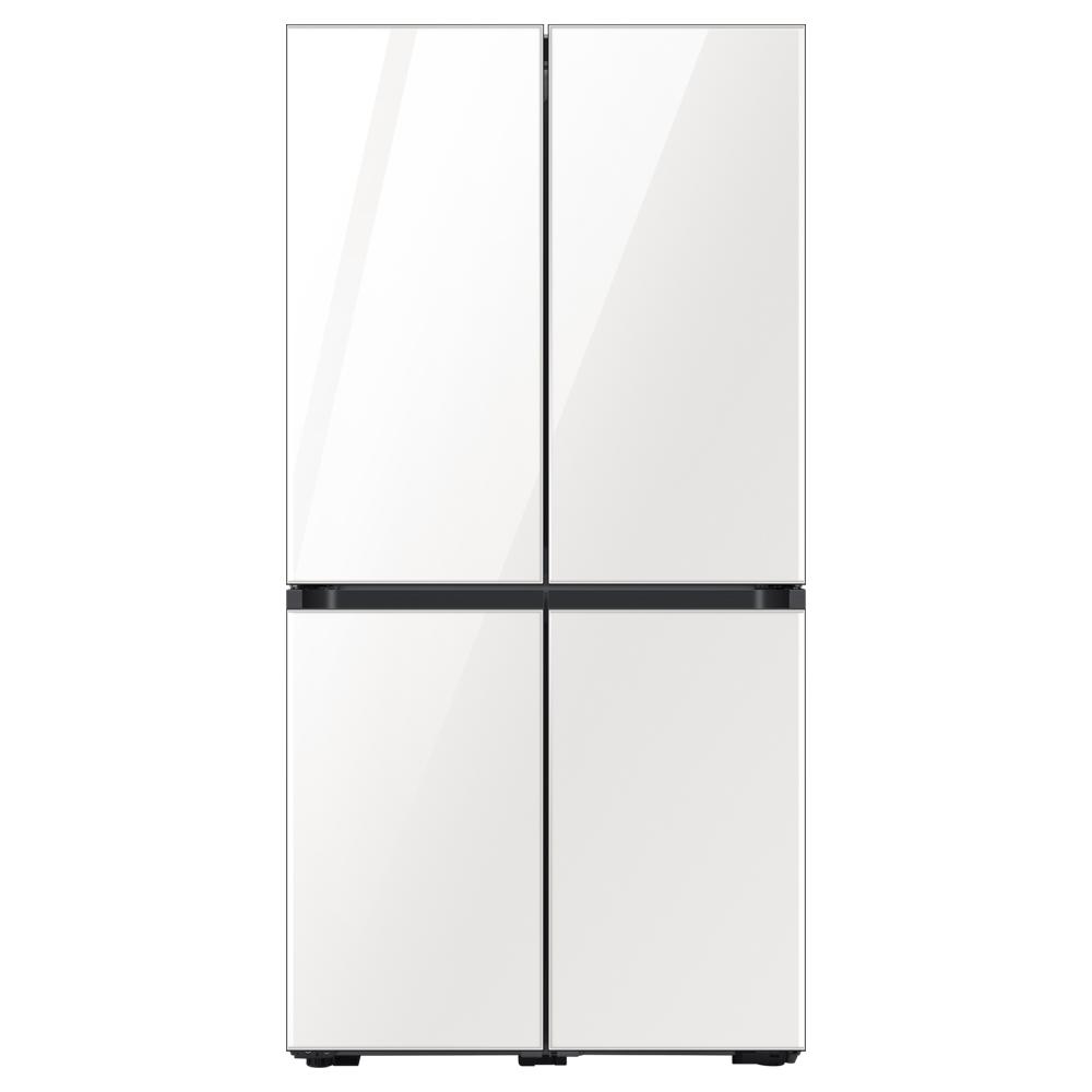 삼성전자 비스포크 4도어 냉장고 글램화이트 RF85T901335 871L 방문설치