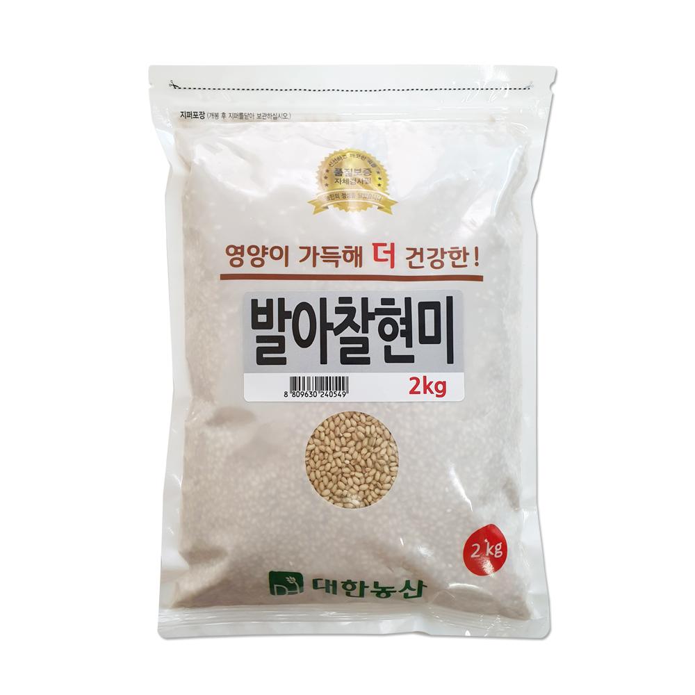 대한농산 발아찰현미, 2kg, 1개