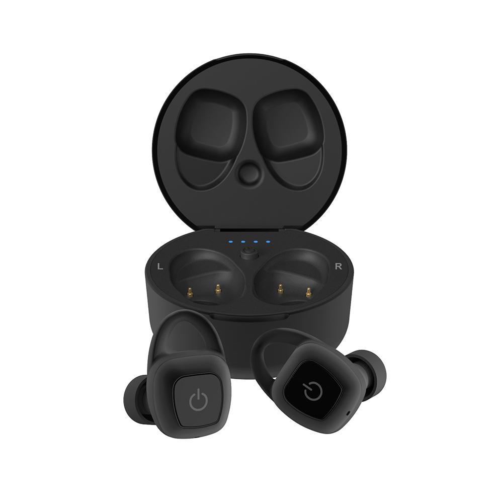 앱코 BEATONIC E06 블루투스 무선 이어폰, 단일상품, 블랙