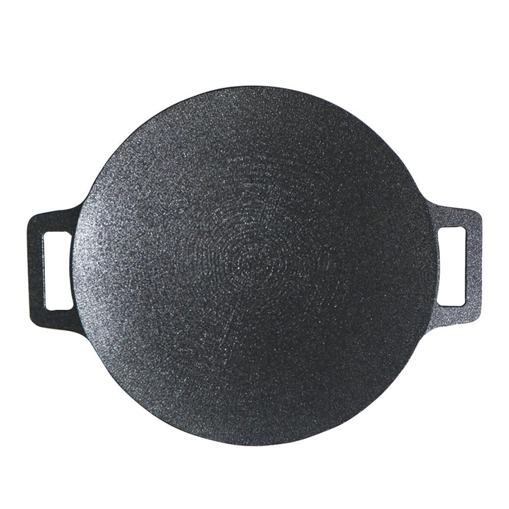 키친아트 라운드 멀티 캠핑 그리들팬, 1개, 250mm