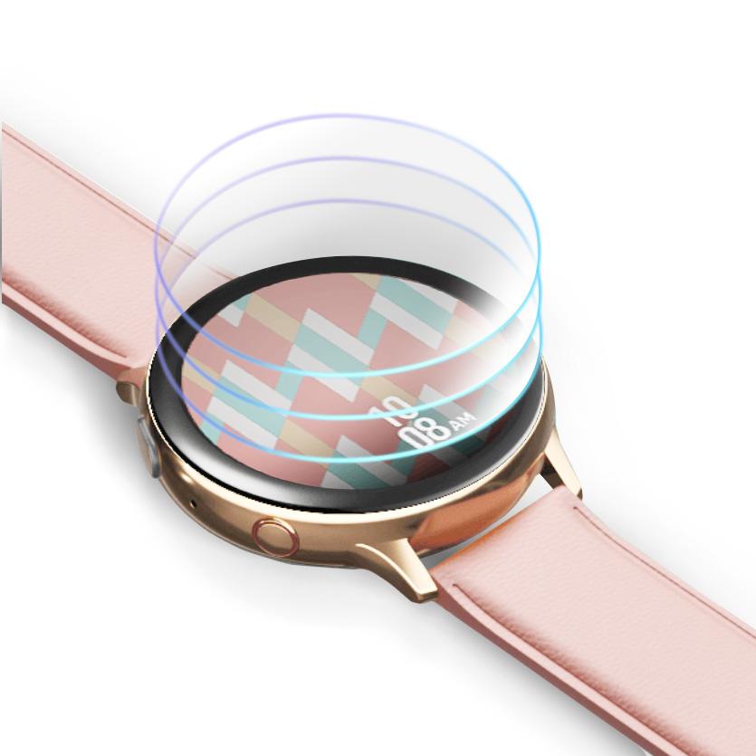 이노스킨 갤럭시워치 액티브2 보호필름 40mm 3p, 단일색상, 1세트