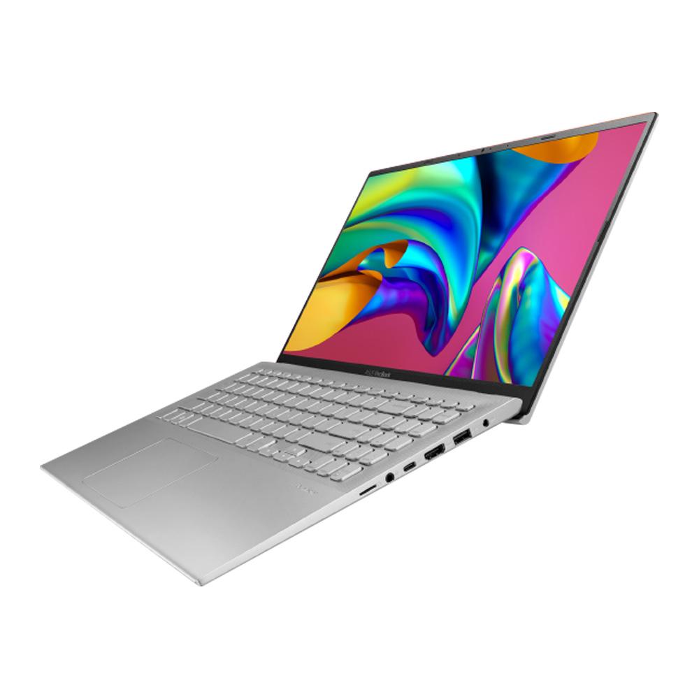 에이수스 VivoBook15 노트북 투명 실버 X512FA-BQ1607 (i5-10210U 39.624cm), 미포함, NVMe 256GB, 8GB