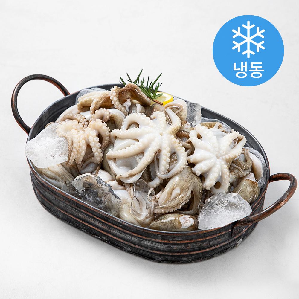 태국산 오동통 손질 주꾸미 (냉동), 750g, 1팩