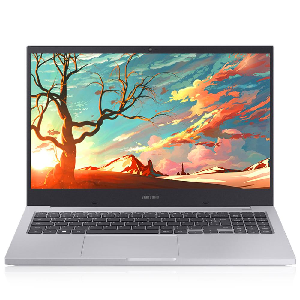 삼성전자 노트북 플러스 플래티넘 티탄 NT550XCR-AD1A (셀러론 5205U 39.6cm), 미포함, NVMe 128GB, 8GB
